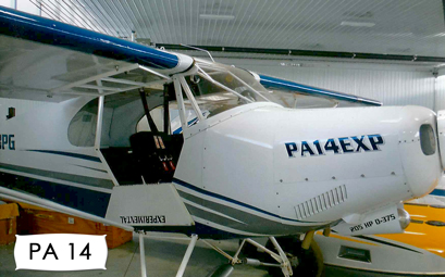 Bbi Aviation Bush Master Airplane Wide Body Supercub Pa