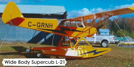 bbi aviation, bush master airplane wide body supercub, pa 12